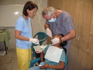 Dental team Jim and Annette